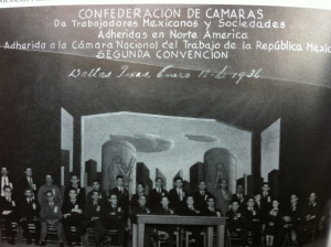 Confederación de Camaras, January 1936 - Dallas, Texas